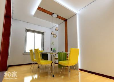 小户型客厅连餐厅设计 餐厅装修效果图 餐厅吊顶效果图 餐