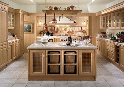 现代乡村风格厨房欣赏