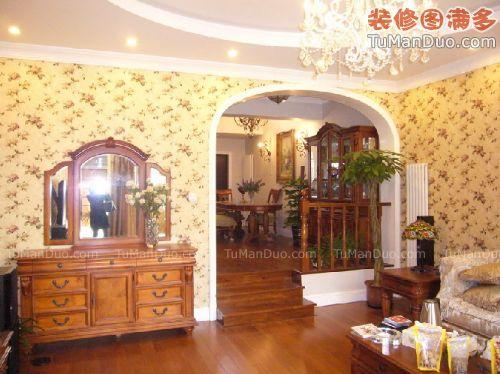 温馨欧式大户型客厅实景图 _客厅装修 - 客厅装修效果