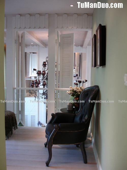 现代欧式复式客厅实景图 客厅装修 客厅装修效果图大全