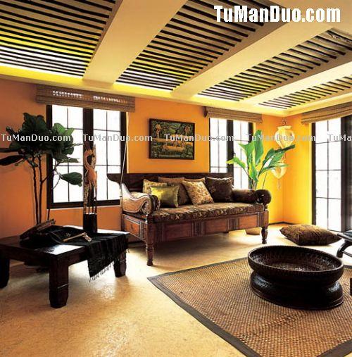 混搭客厅实景图欣赏 客厅装修 客厅装修效果图大全2011图