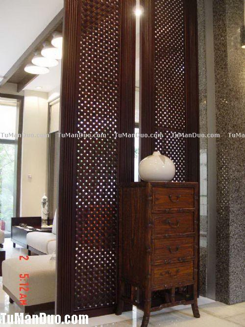 中式客厅实景图欣赏 客厅装修 客厅装修效果图大全2011图