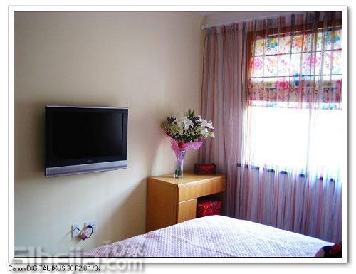 86平米3室1厅简约小户型 三室两厅两卫装修效果图 三室两