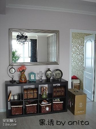 暖昧奢华 网友田园风格的三居 二 三室两厅两卫装修效果