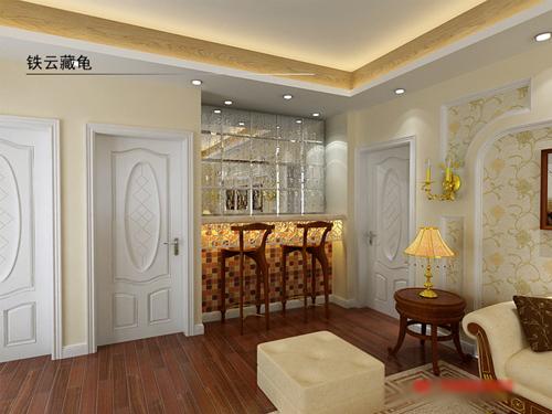 四房大户装修 现代欧式风格爱家秀_四室两厅装修效果