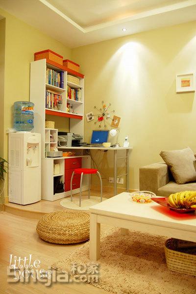 小房子也有大生活 小户型装修效果图大全2011图片 交换空间