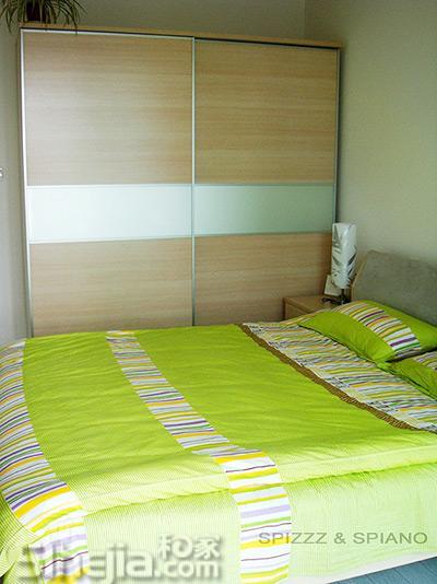 62平简约两室婚房 分享装修经验 小户型装修效果图大全