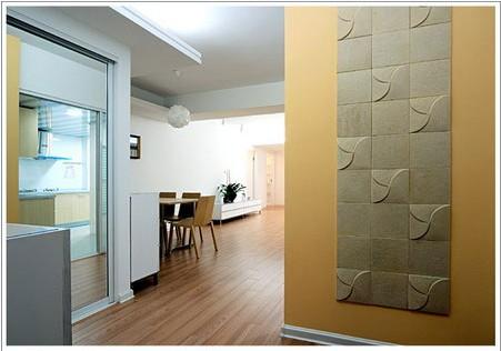 90平米温情小家 1 小户型装修效果图大全2011图片 交换空间