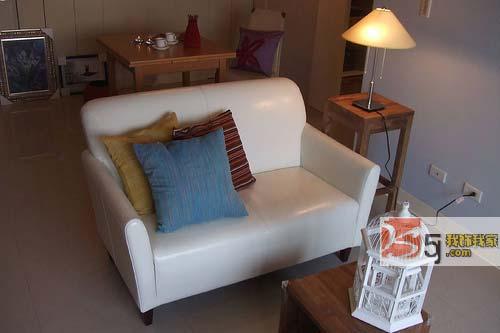 90平2房2厅清爽时尚新实用样板 1 小户型装修效果图大全