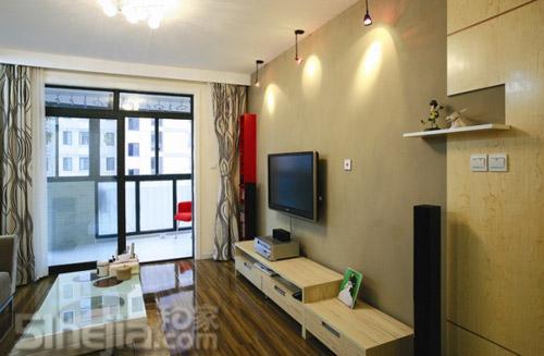 上海网友装修80平简约两房 小户型装修效果图大全2011图
