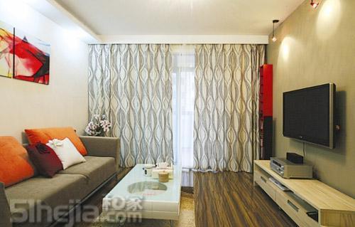 上海网友装修80平简约两房 样板房设计 装修样板房 样板房 高清图片