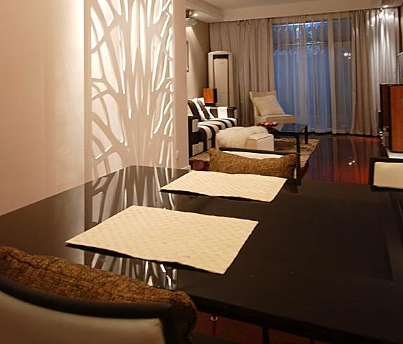 三房两厅100多平米清包装修 _样板房设计-装修样板房