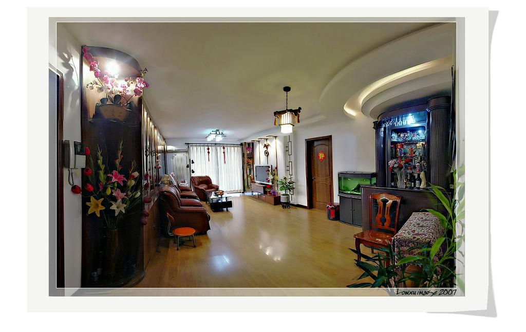 8万装132平米中式风格两居室 样板房设计 装修样板房 样板房