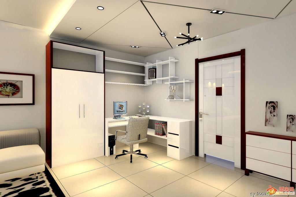 装修灵感发源 60平小户型效果图 样板房设计 装修样板房