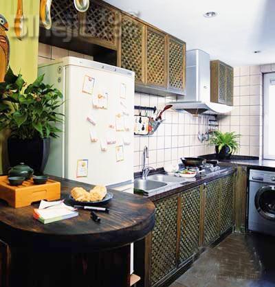 网友高效利用的40平小户型 样板房设计 装修样板房 样板房 高清图片